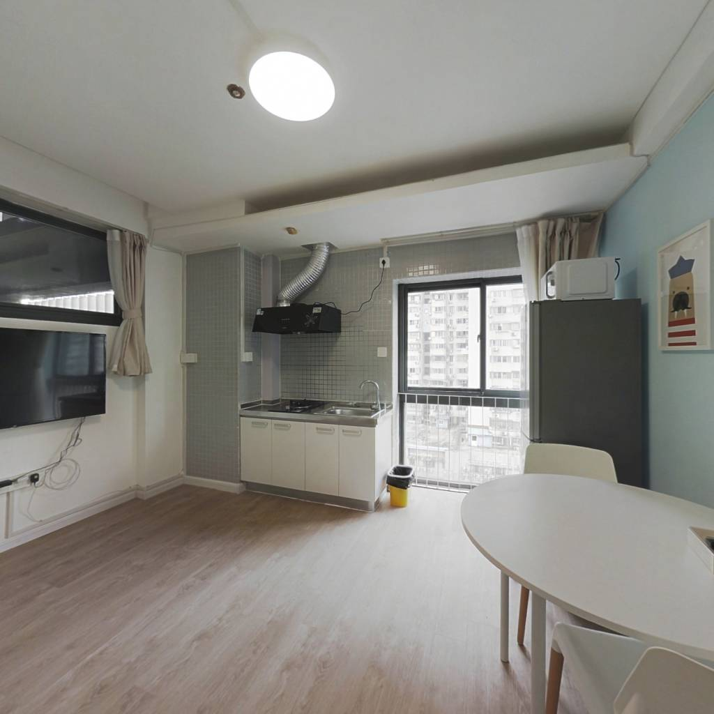 整租·木马公寓 2室1厅 北卧室图