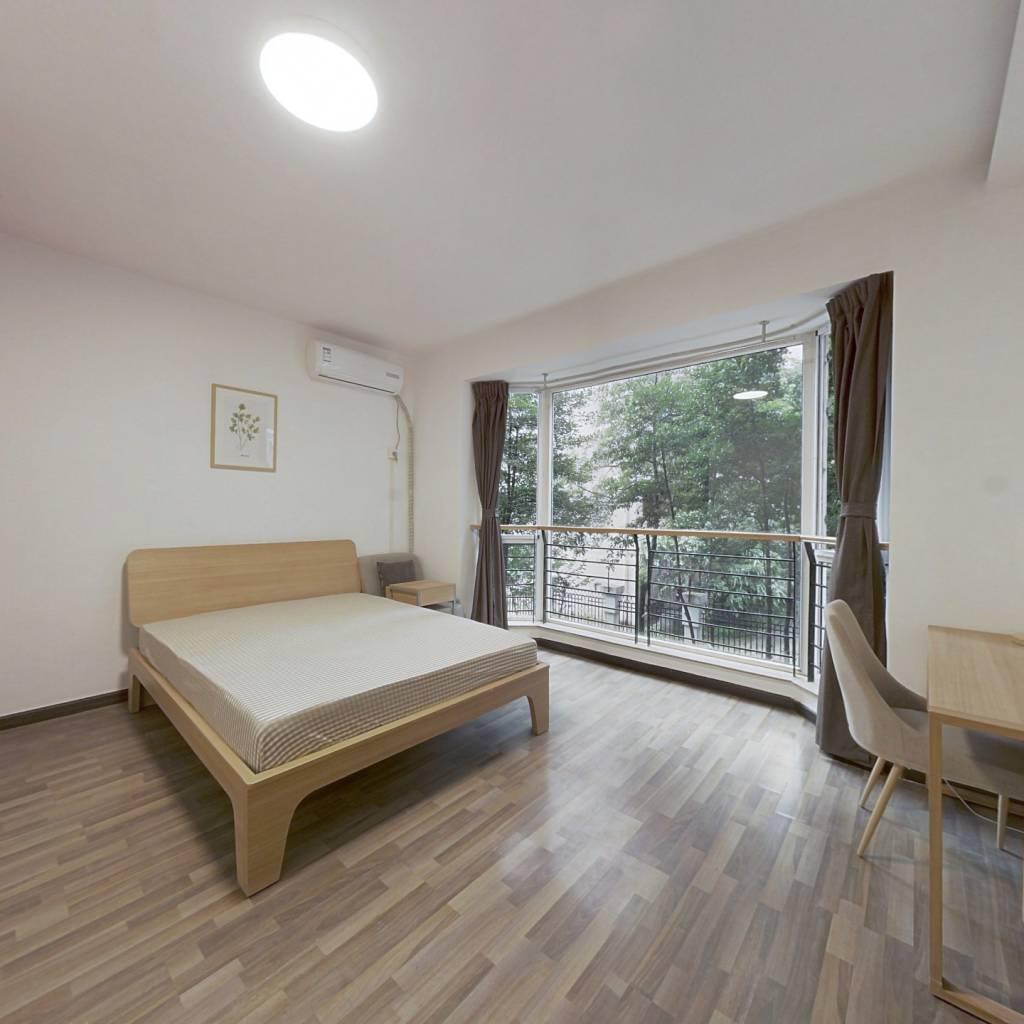 合租·冠城花园二期 5室1厅 东北卧室图
