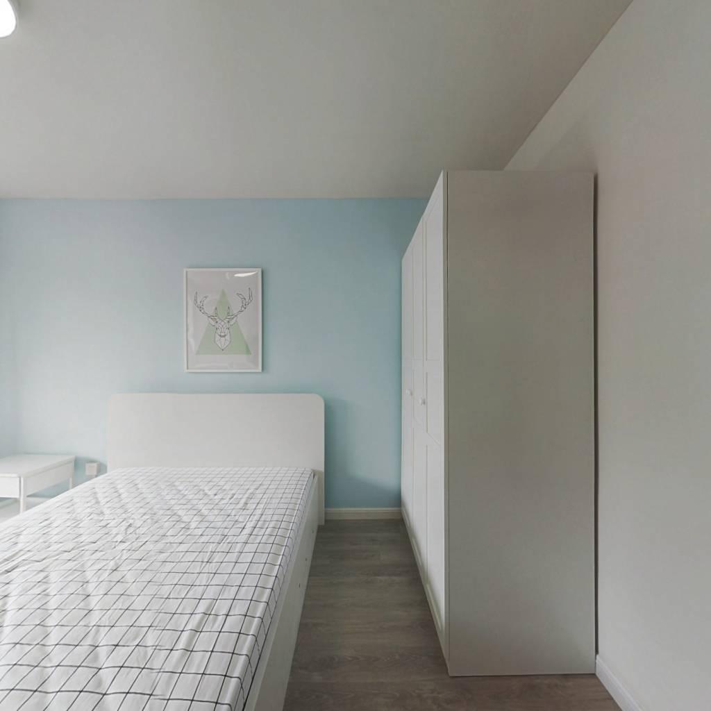 整租·何家宅小区 2室1厅 南北卧室图