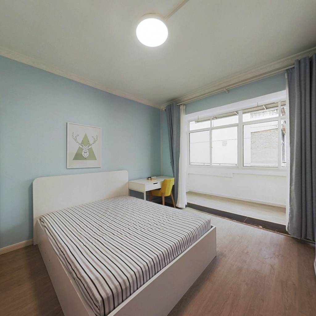 整租·和会街 1室1厅 东卧室图
