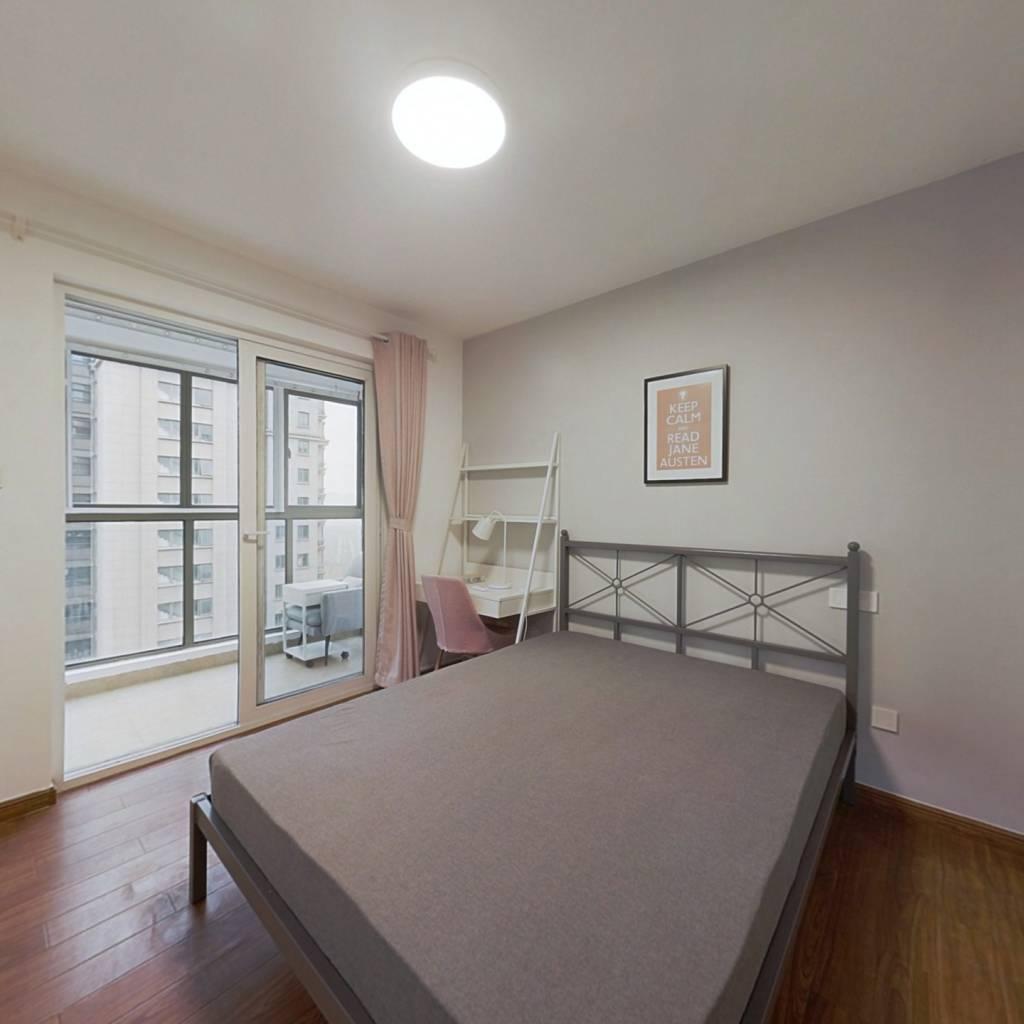 合租·洲岛家园 4室1厅 南卧室图