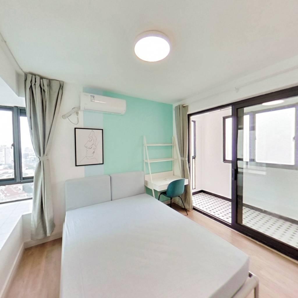合租·华滨家园 4室1厅 西南卧室图
