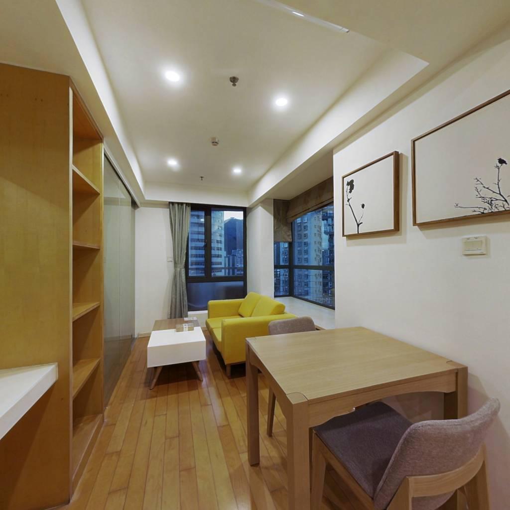 整租·花园城三期 1室1厅 西南卧室图
