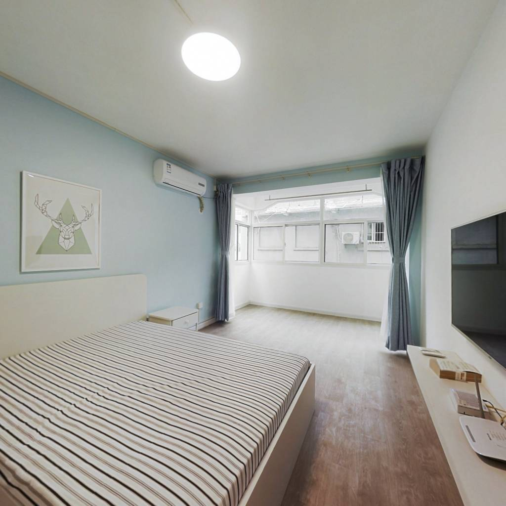 整租·丰富路 2室1厅 南北卧室图