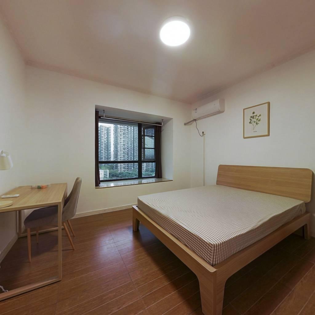 合租·领馆区1号 4室1厅 东卧室图