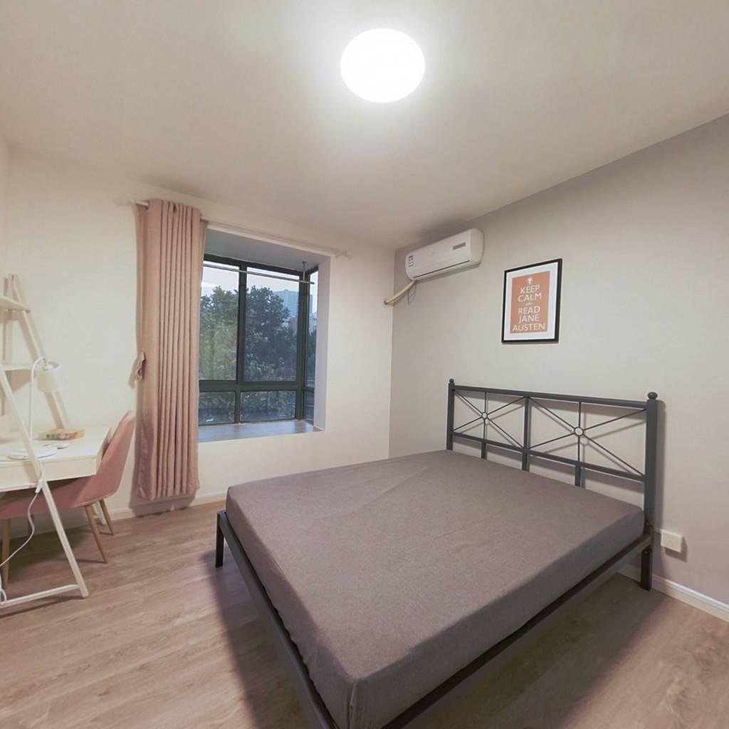 合租·花神美境 4室1厅 北卧室图