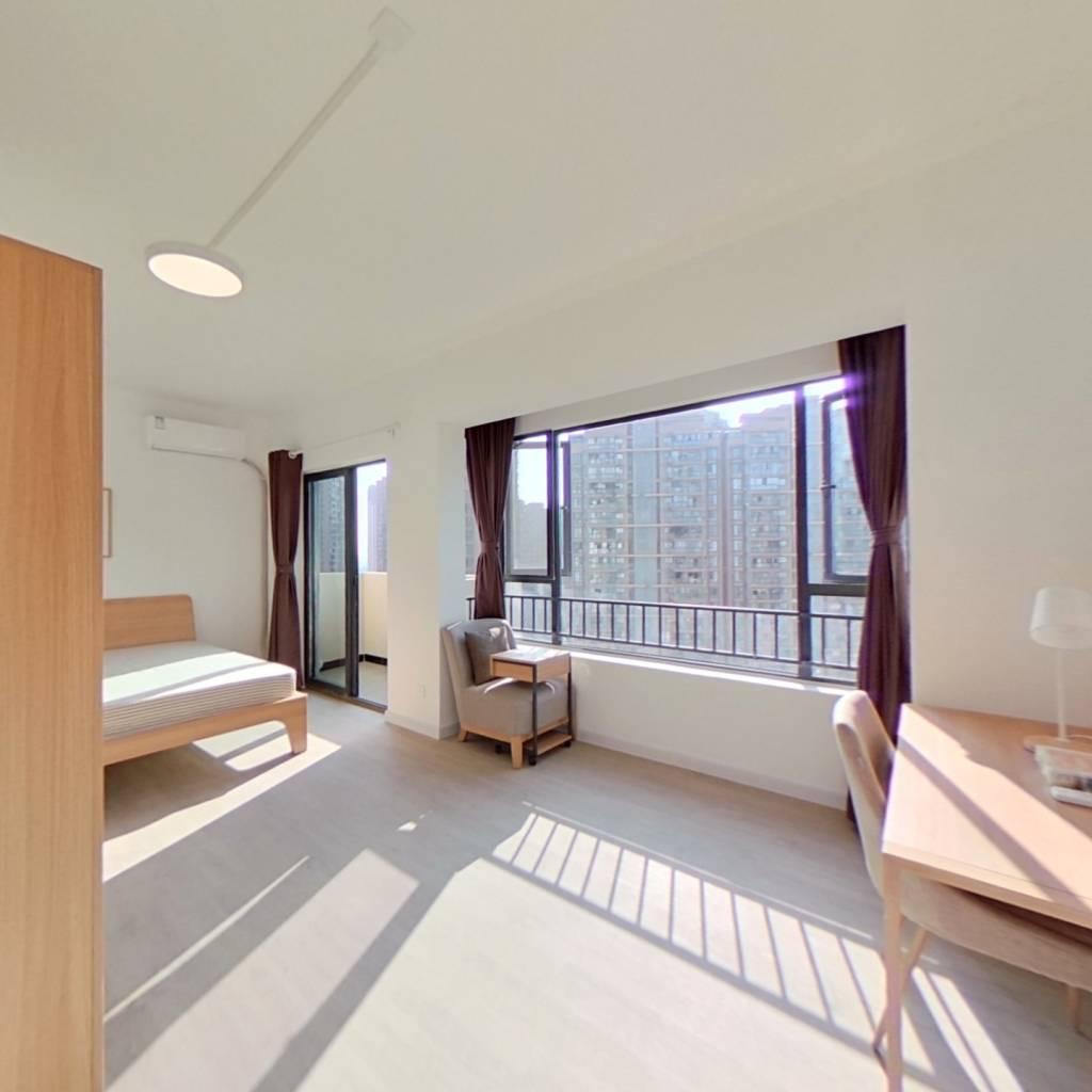 合租·中化滨江锦府 4室1厅 东南卧室图