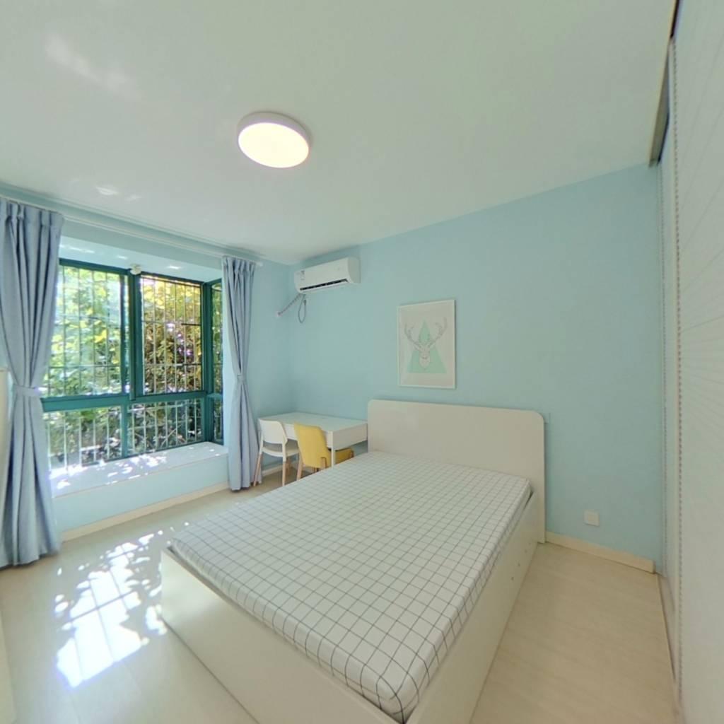 整租·蓝色港湾(公寓) 2室1厅 南卧室图