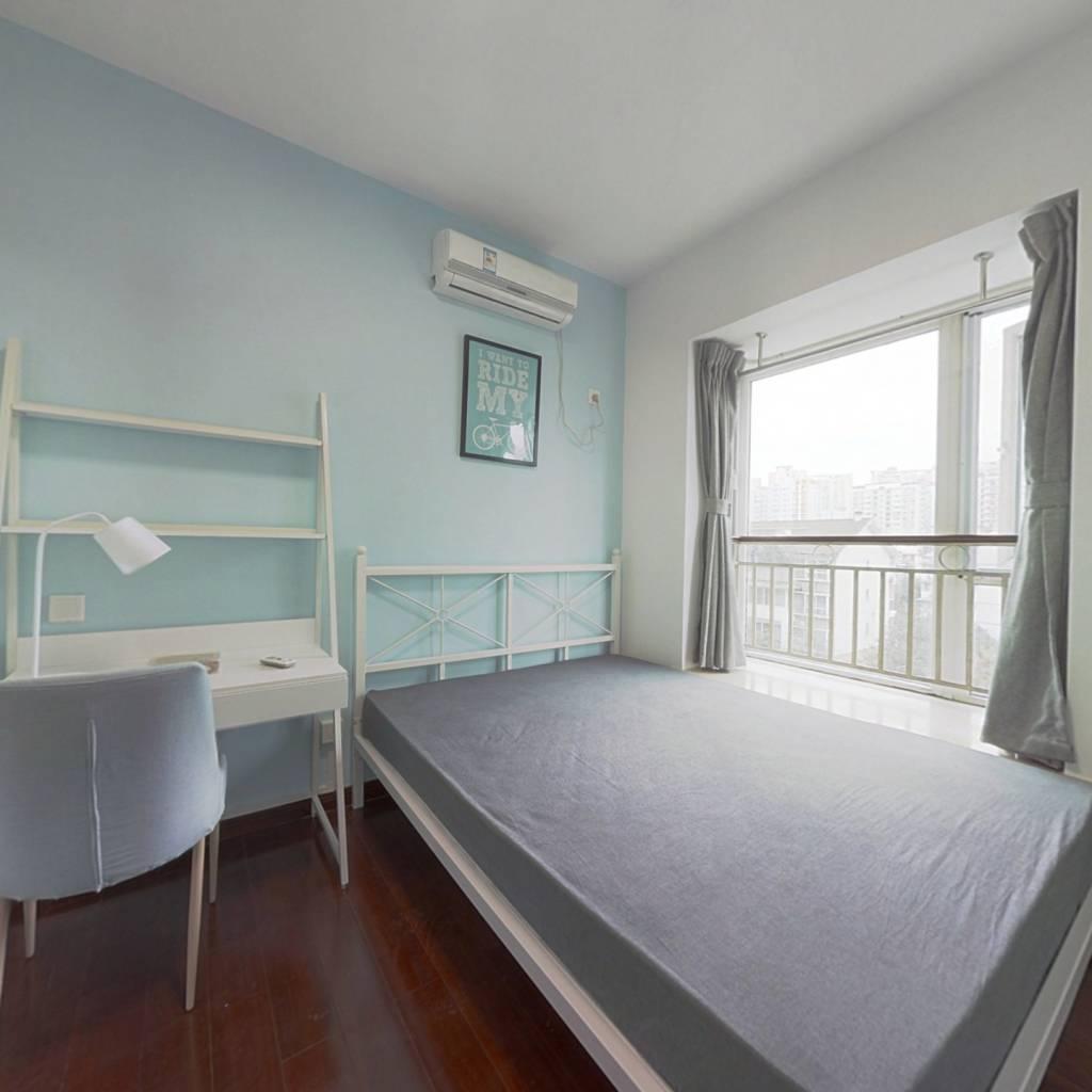 合租·三洲娇子苑 4室1厅 北卧室图