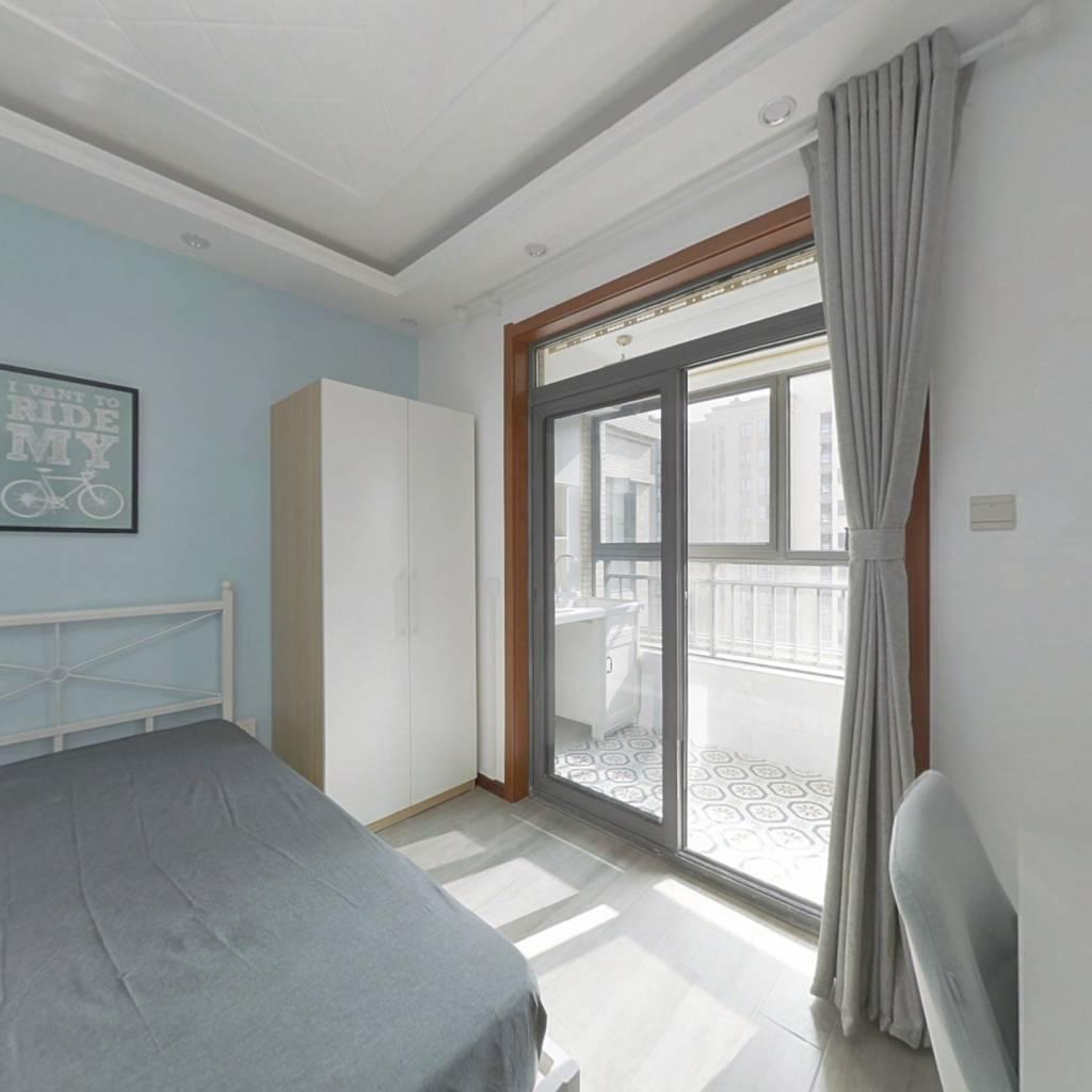 合租·汇悦天地二期 4室1厅 西卧室图
