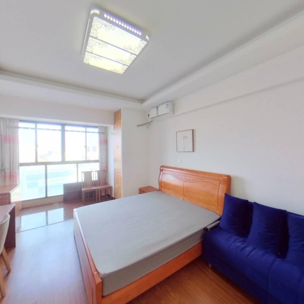 整租·旭辉浦江国际广场(酒店式公寓) 1室1厅 东卧室图