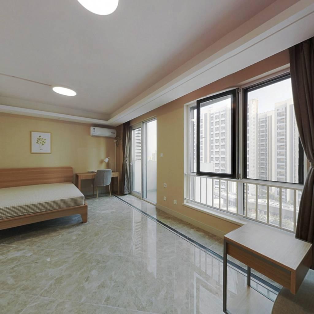 合租·中航樾广场 4室1厅 南卧室图