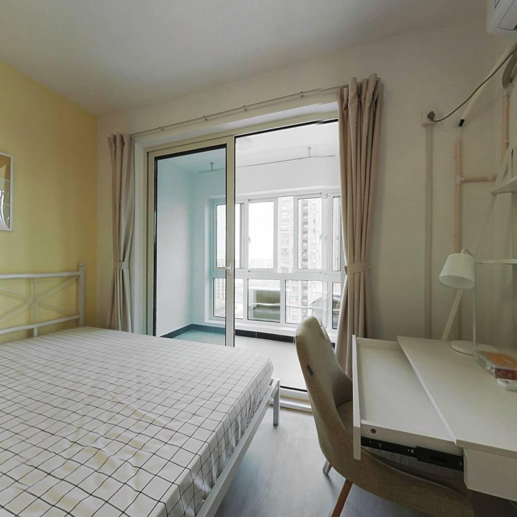 合租·新城红郡 4室1厅 北卧室图