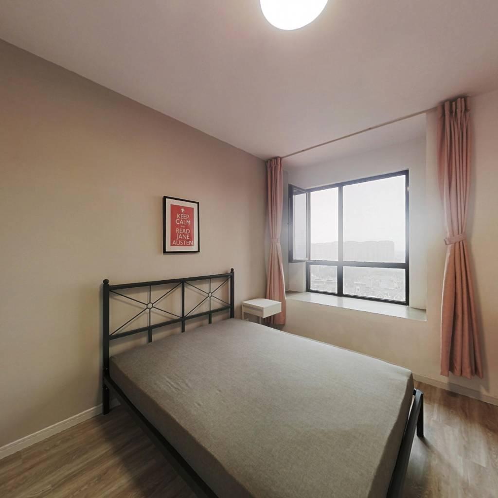 合租·西上海御庭 3室1厅 北卧室图