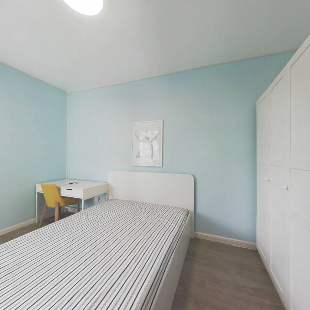 整租·太平桥南 2室1厅 西南卧室图