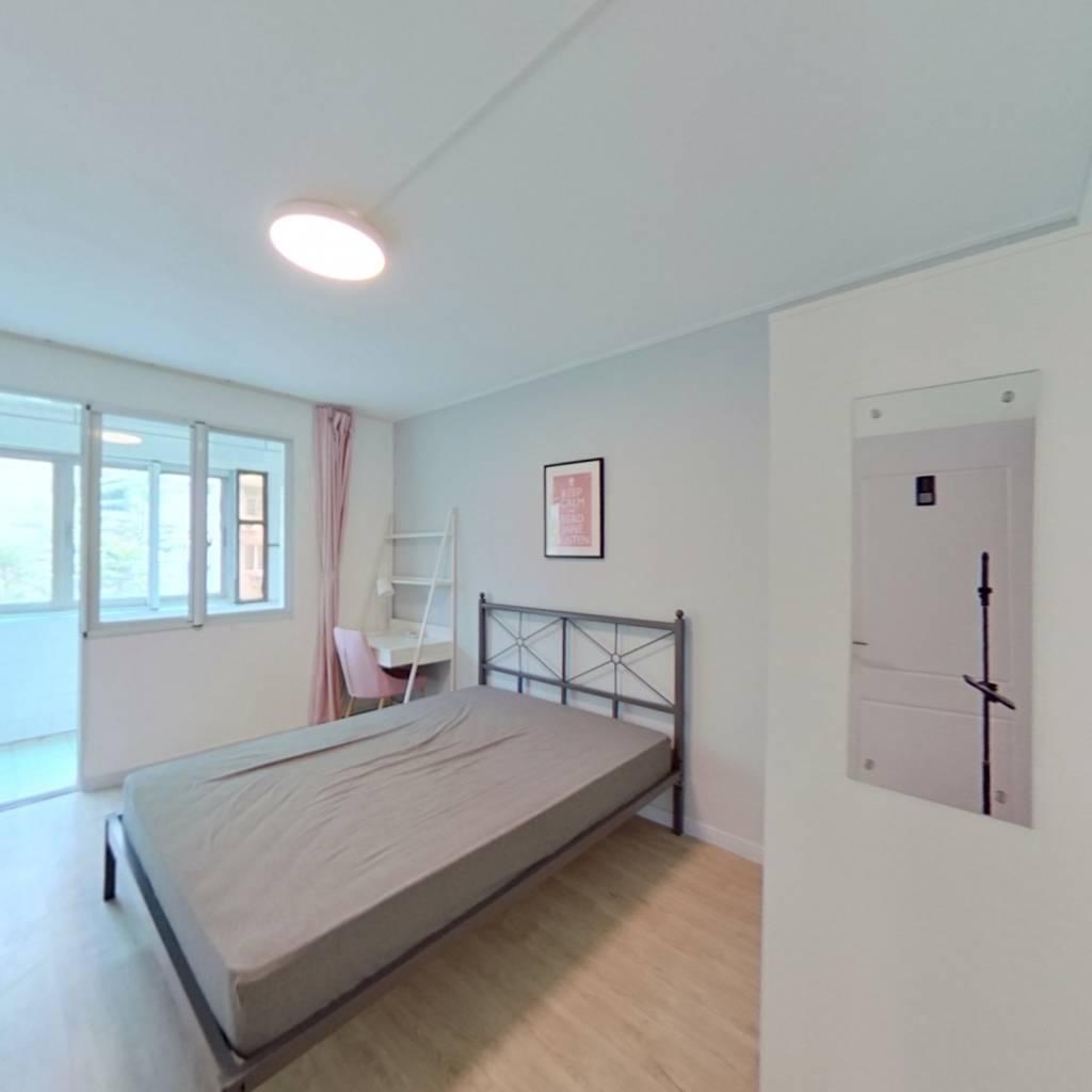 合租·朝晖二区 3室1厅 南卧室图