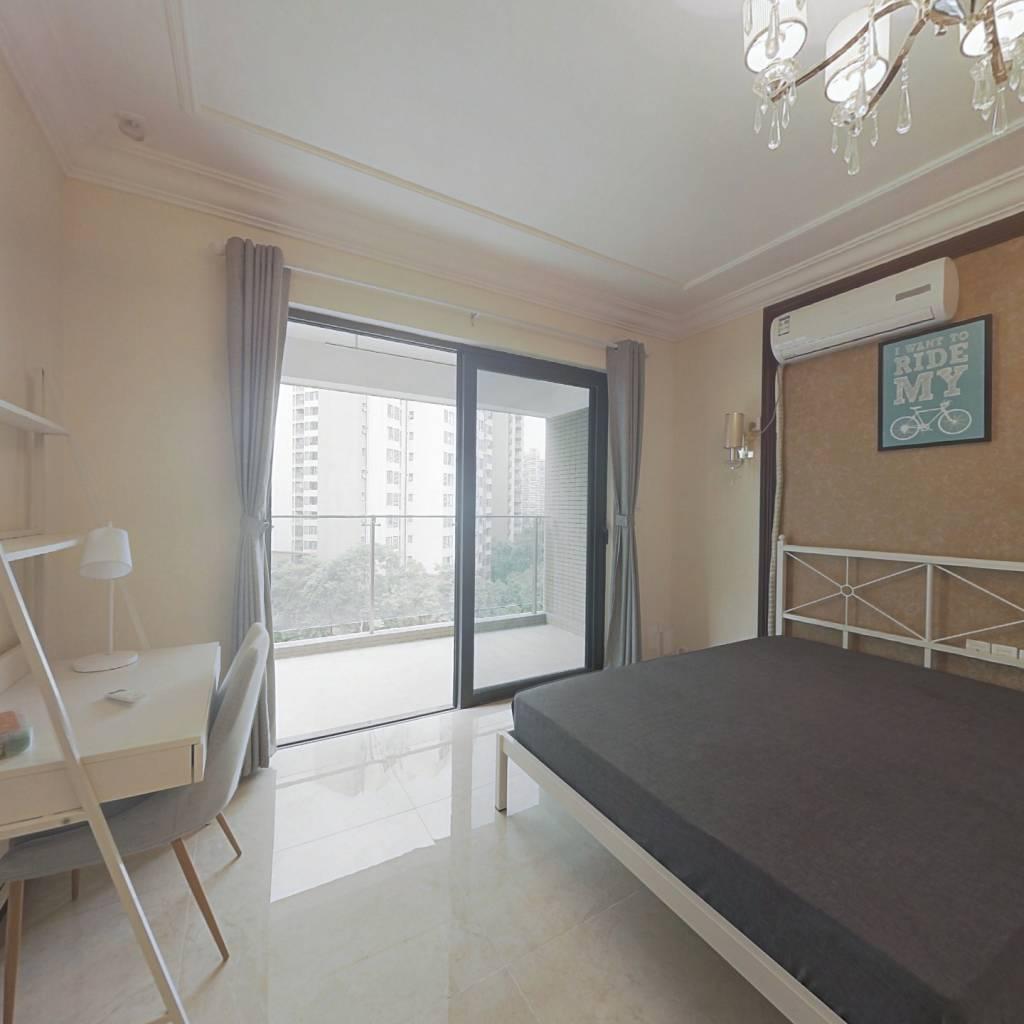 合租·恒大天府半岛二期 3室1厅 北卧室图
