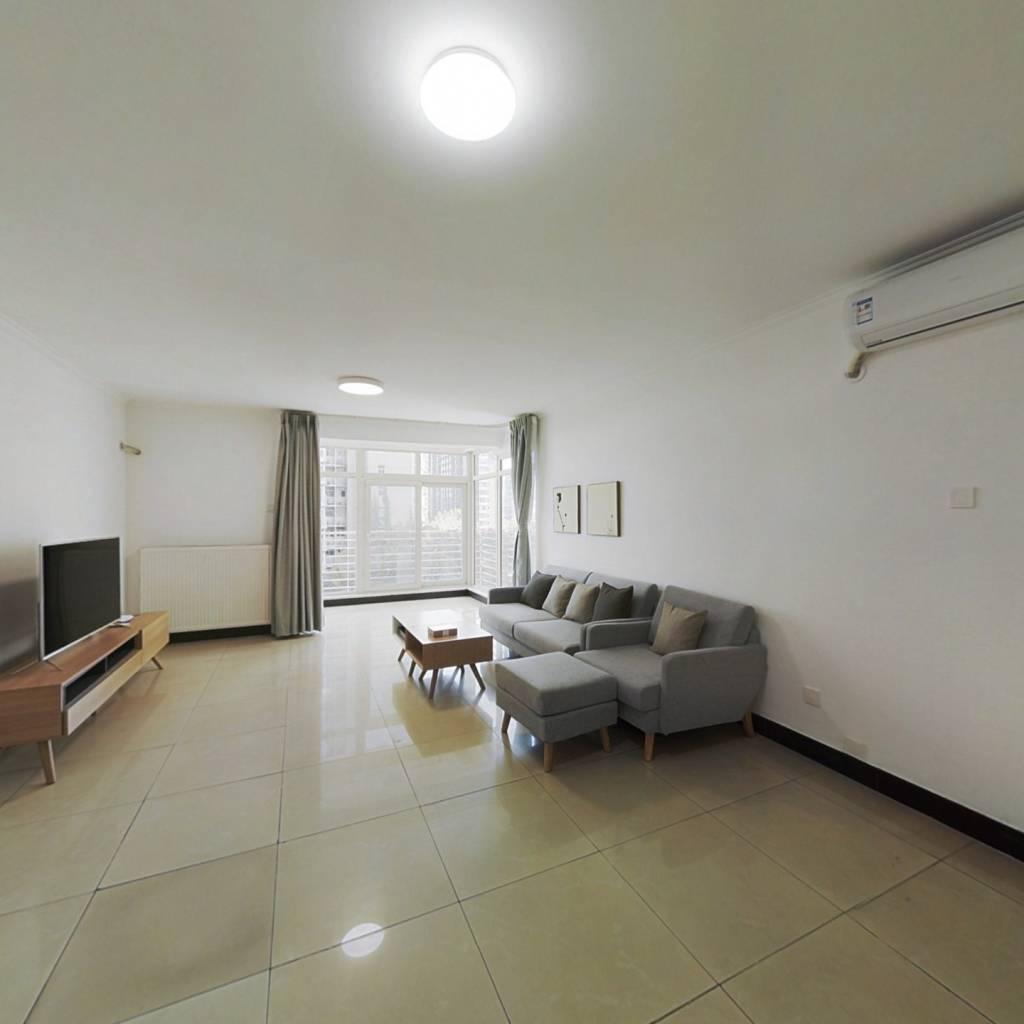 整租·远洋天地二期 2室1厅 东南卧室图