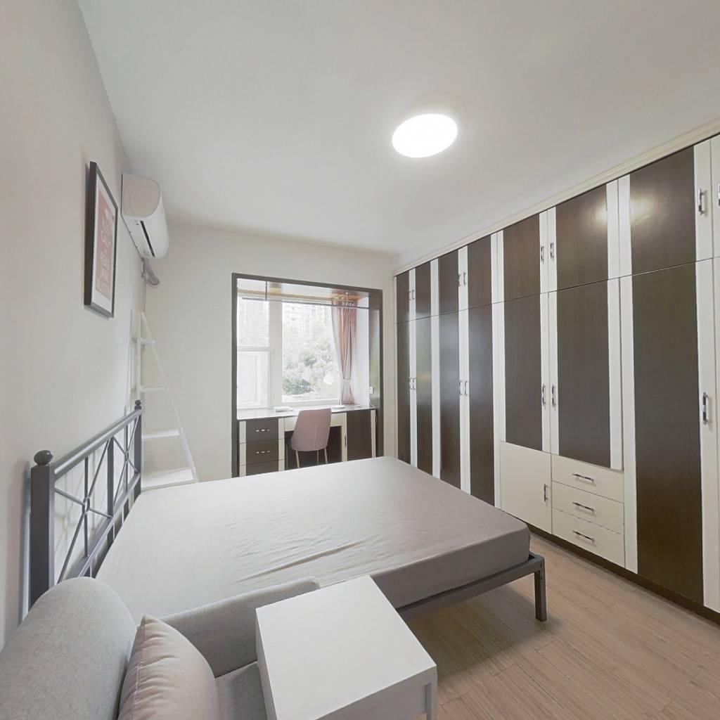 合租·世纪朝阳 4室1厅 西北卧室图