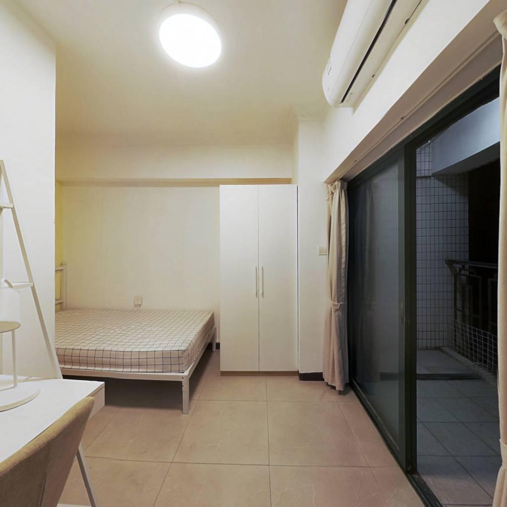 合租·荔港南湾 3室1厅 北卧室图