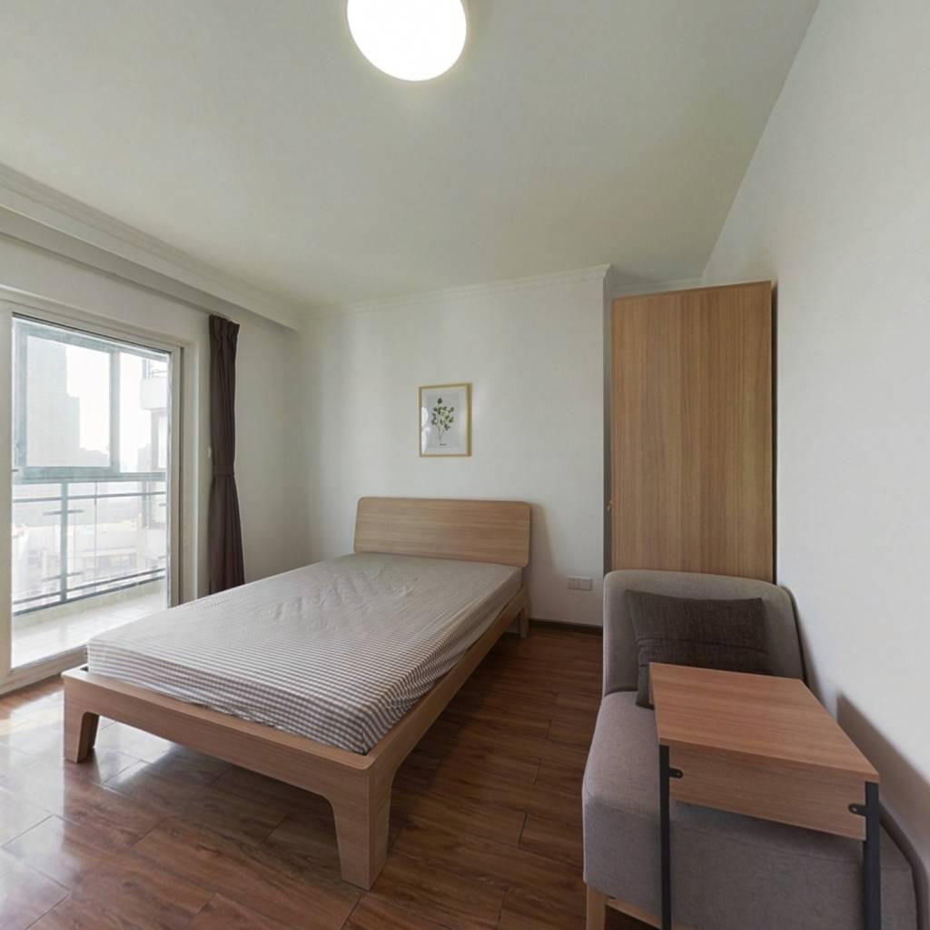 合租·锦绣中北 4室1厅 北卧室图