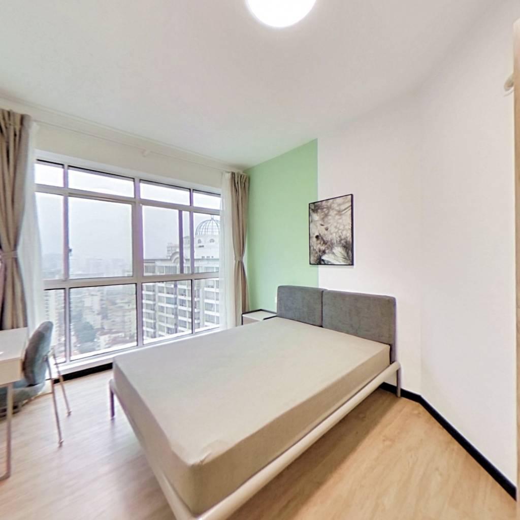 整租·嘉汇广场 2室1厅 东卧室图