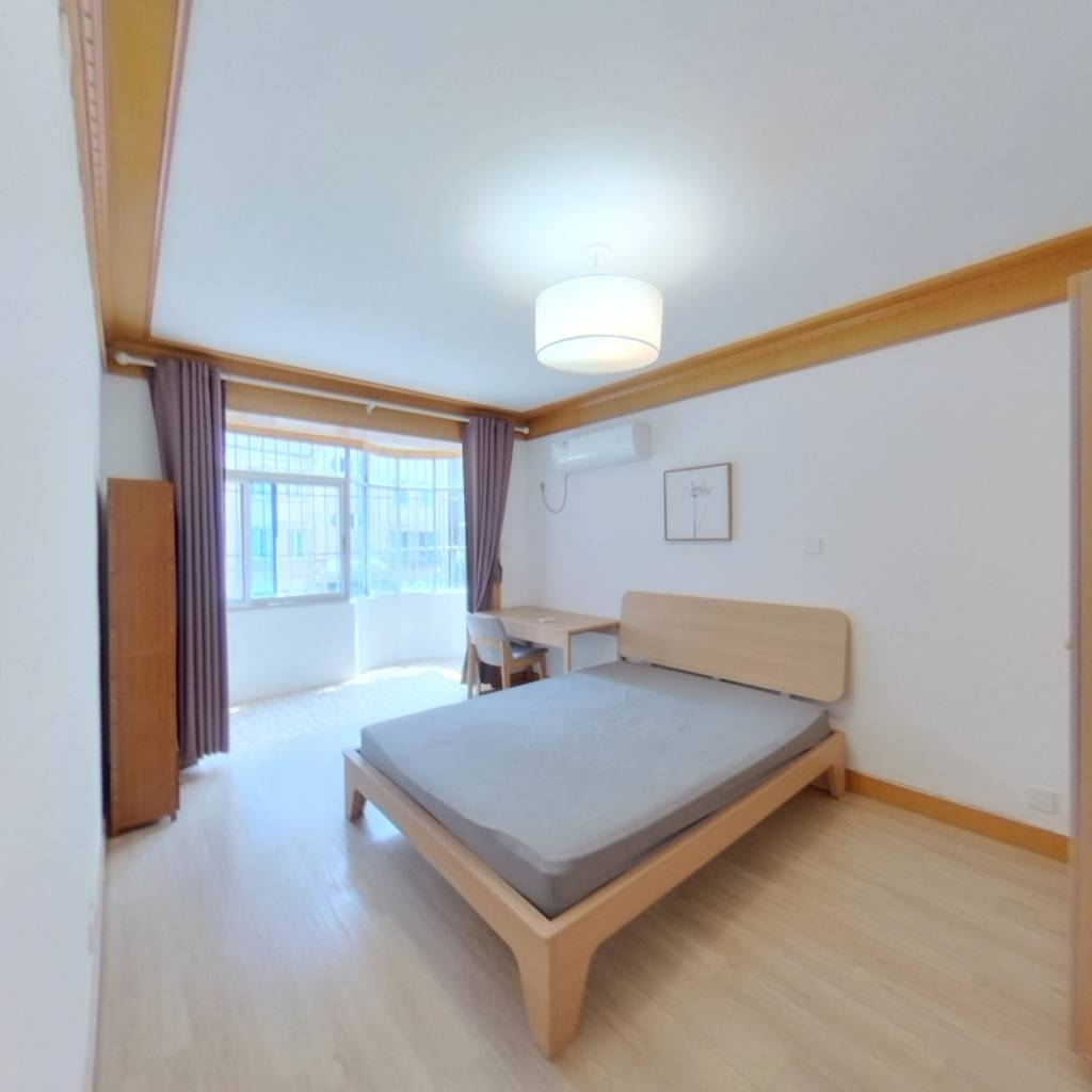 整租·梅花新村(花木) 2室1厅 南卧室图