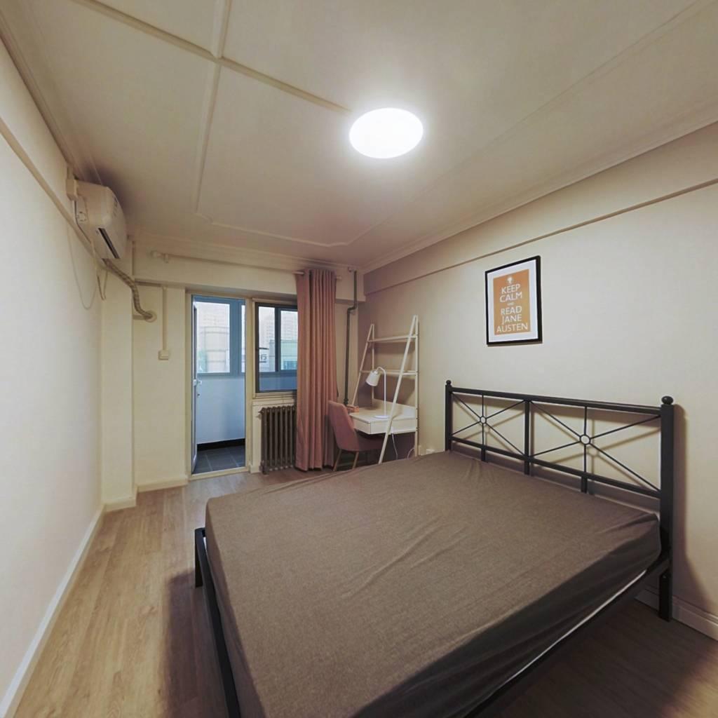 合租·景福里 2室1厅 东北卧室图
