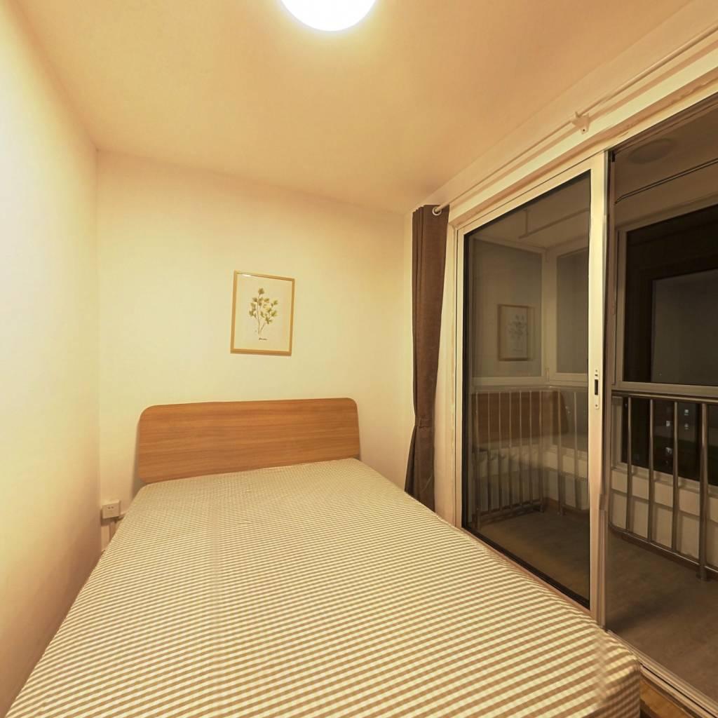 合租·泰福苑D3区 3室1厅 南卧室图