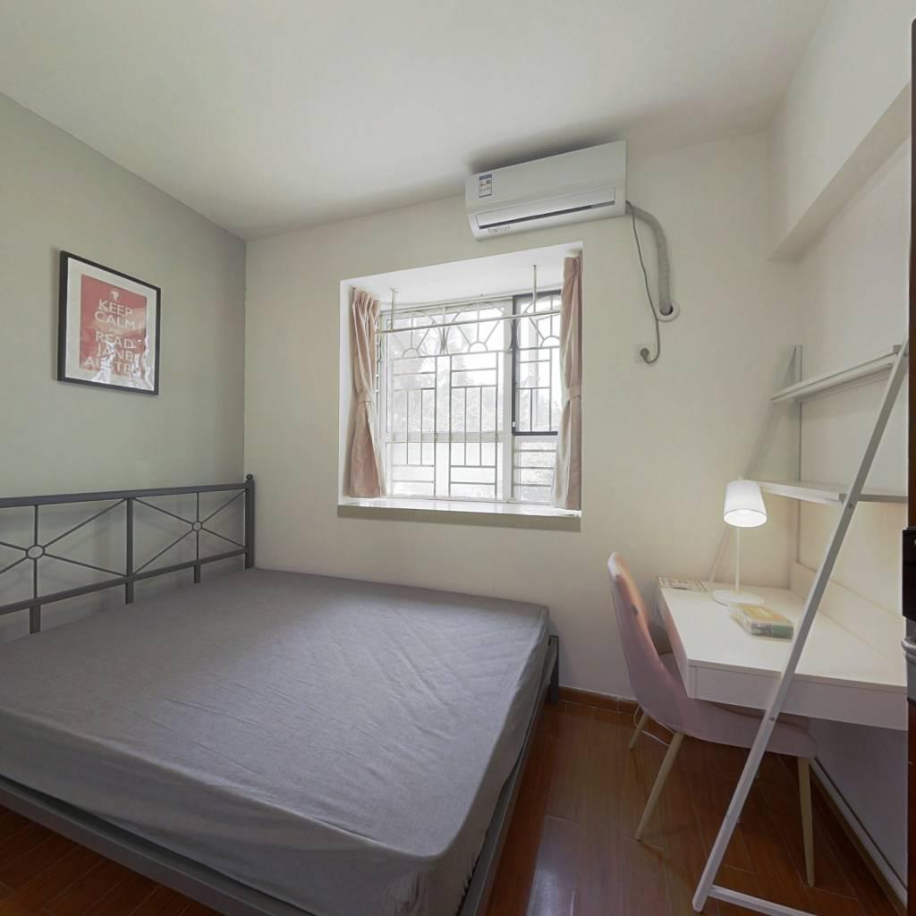 合租·前海花园三期 4室1厅 东卧室图
