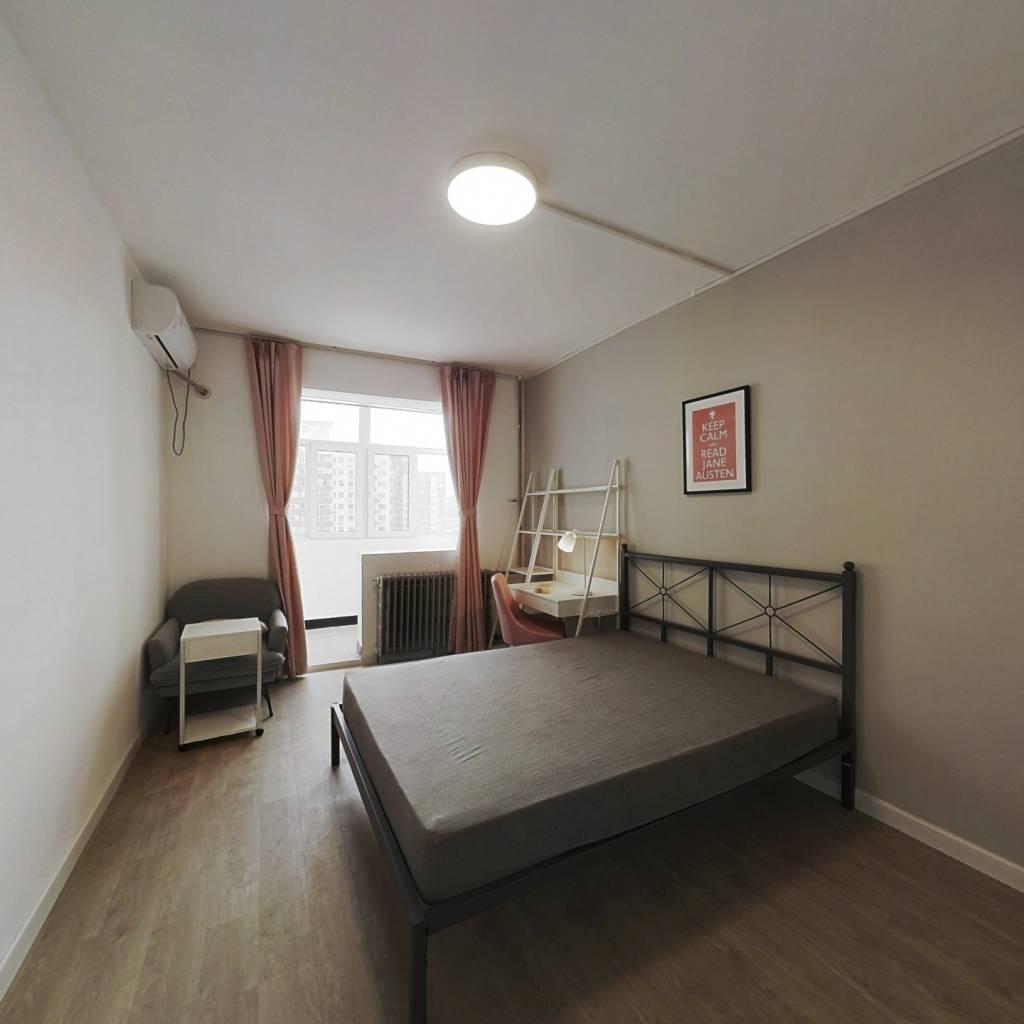 合租·延静西里 3室1厅 北卧室图