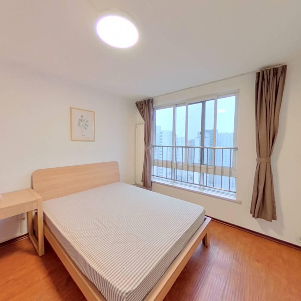 合租·富力阳光美园 3室1厅 南卧室图