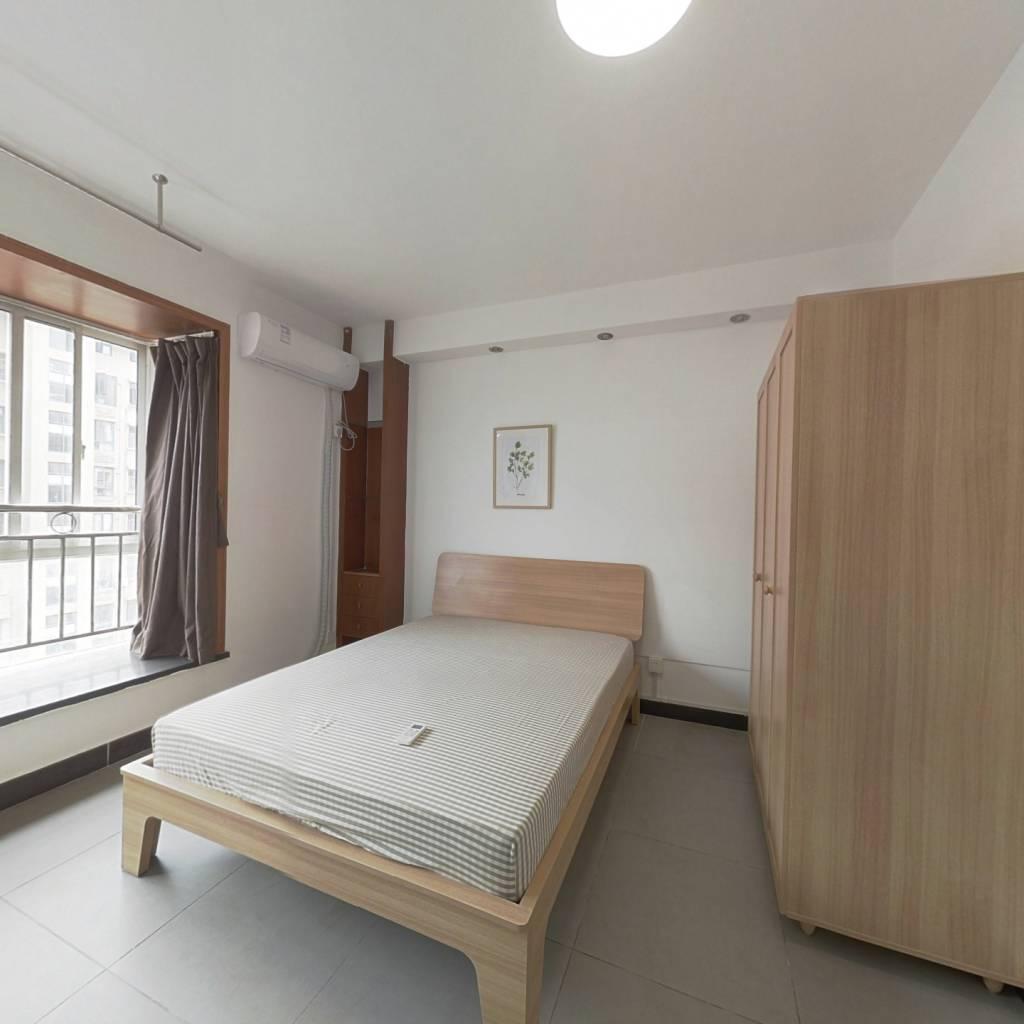 合租·绿汀雅境 4室1厅 北卧室图