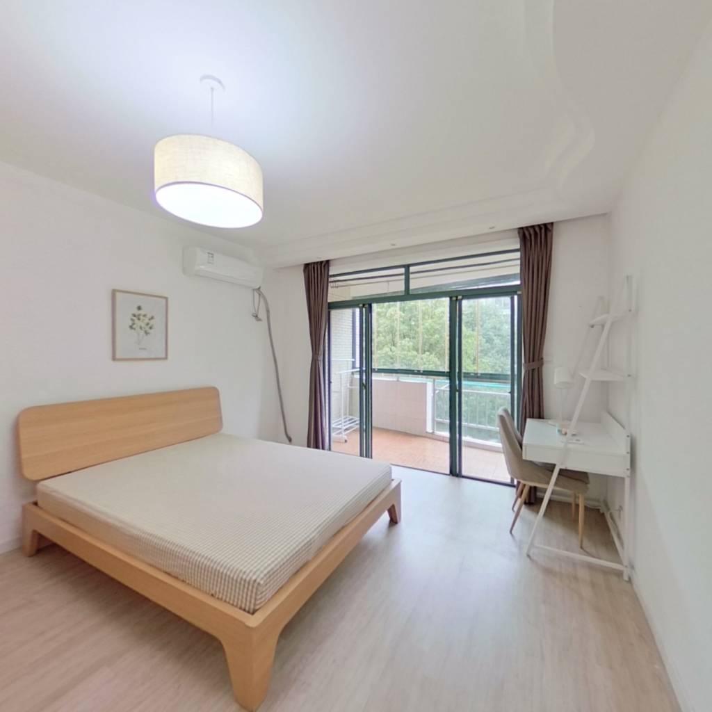 合租·三泉家园 3室1厅 南卧室图