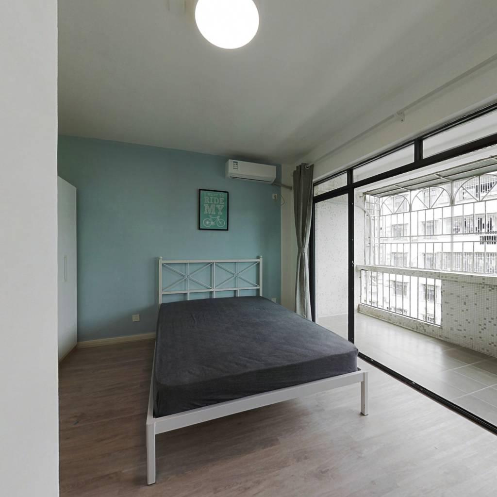 合租·广物花园 3室1厅 北卧室图