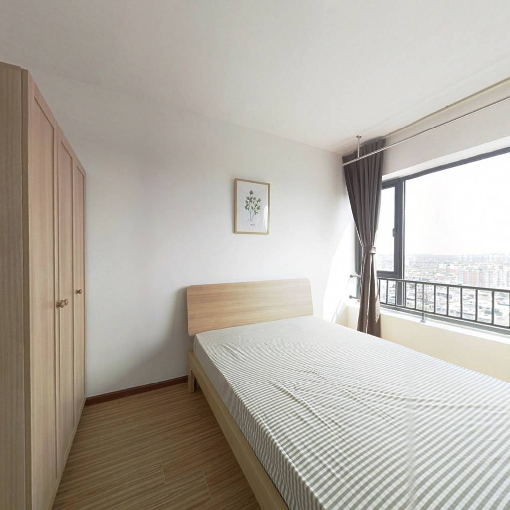 合租·龙湖金楠天街 3室1厅 西南卧室图