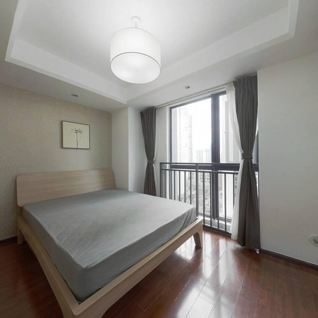 整租·天紫界 1室1厅 西南卧室图