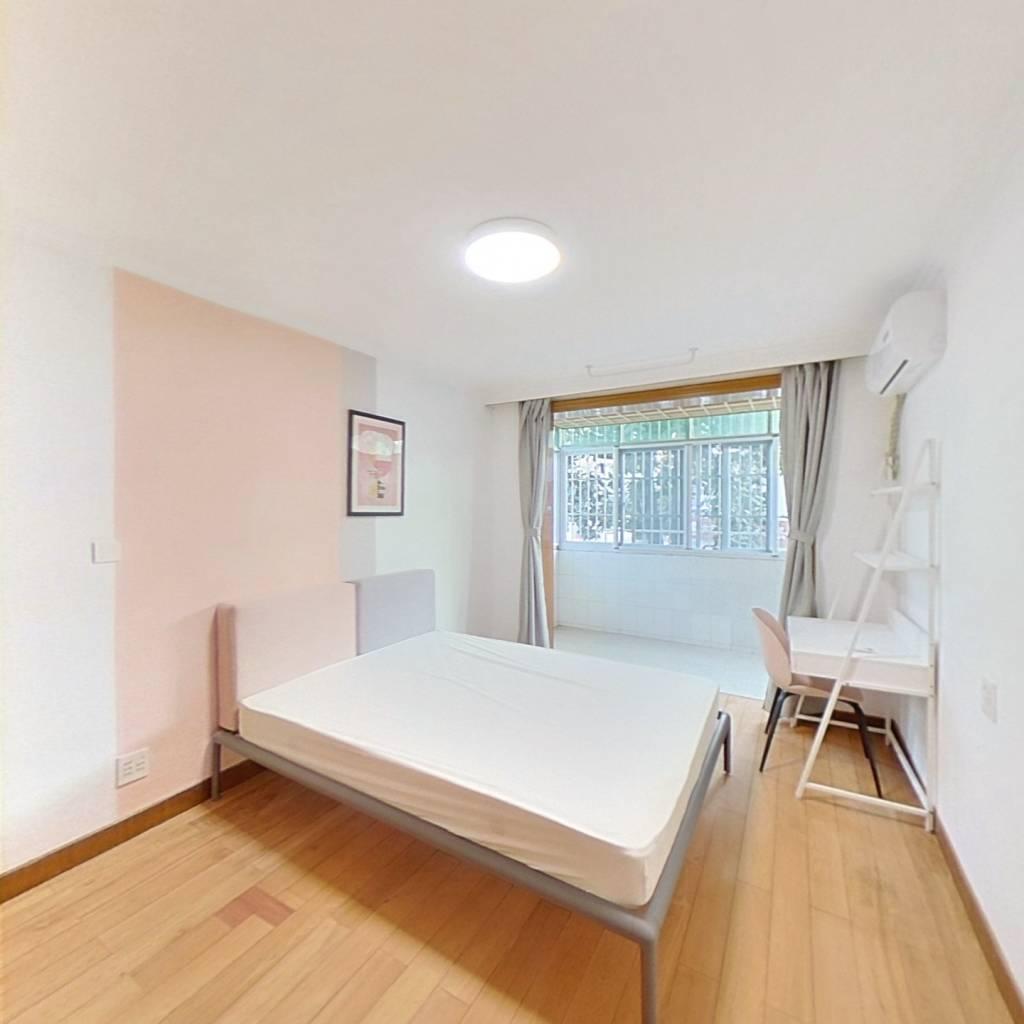 合租·古荡新村东区 3室1厅 南卧室图