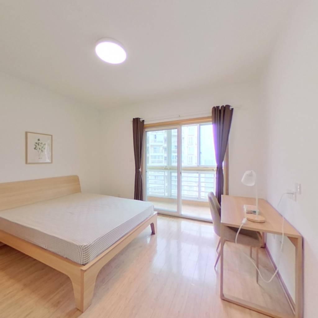 合租·天鹅湖北苑 3室1厅 东北卧室图