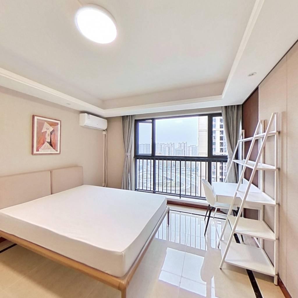 合租·滨江和城 4室1厅 西南卧室图