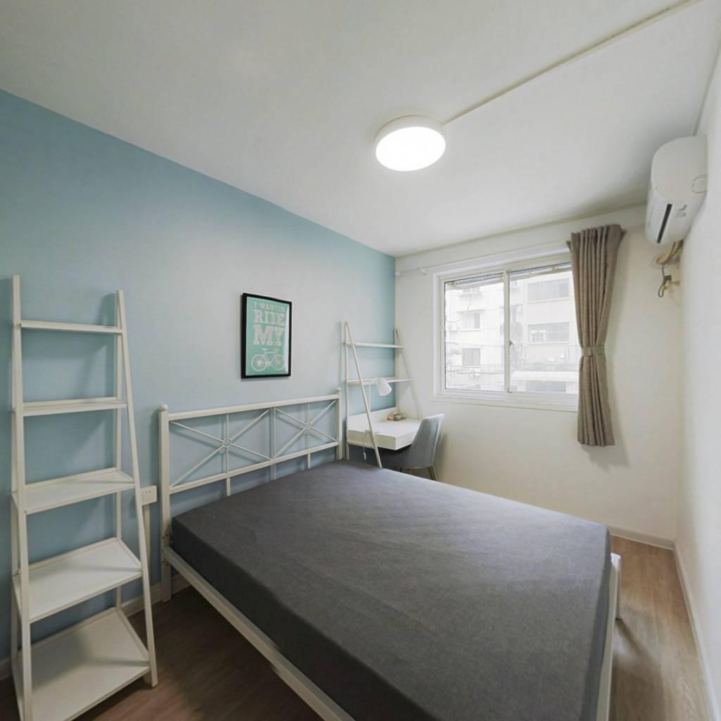 合租·开鲁五村 3室1厅 北卧室图