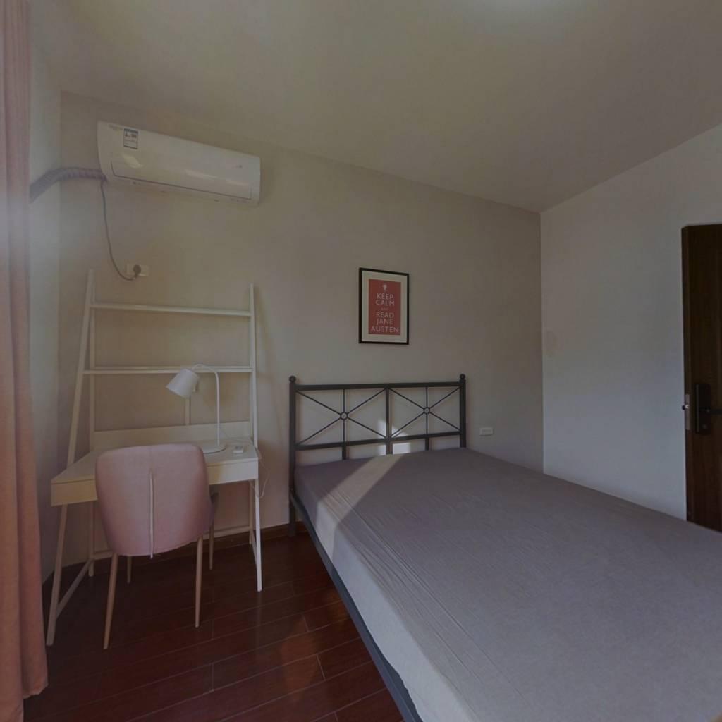 合租·沁康园 3室1厅 北卧室图