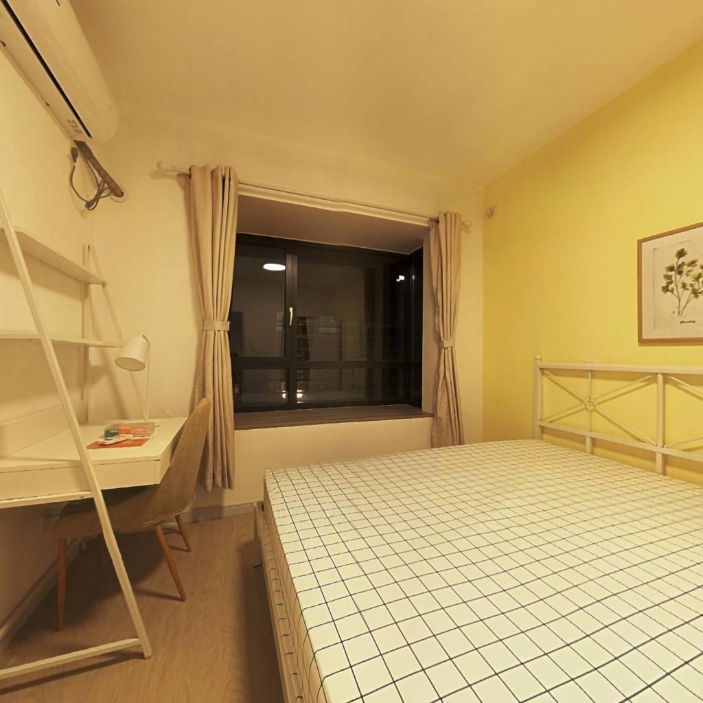 合租·中金海棠湾(公寓) 4室1厅 南卧室图