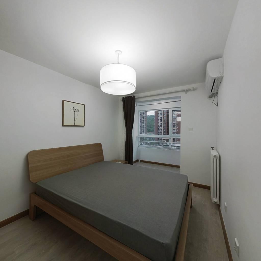 整租·紫金新园三区 2室1厅 西卧室图