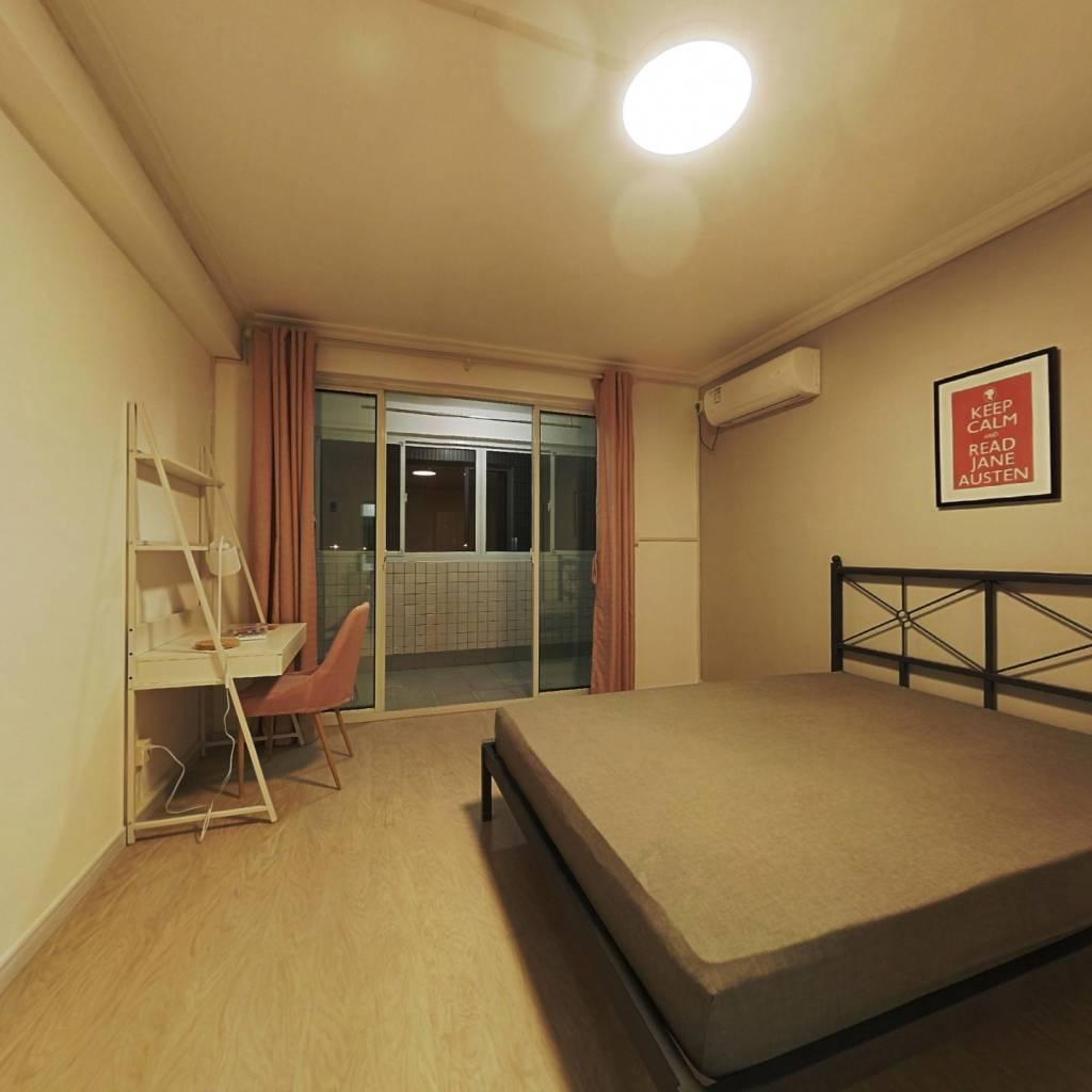 合租·锦南花苑 4室2厅 南卧室图