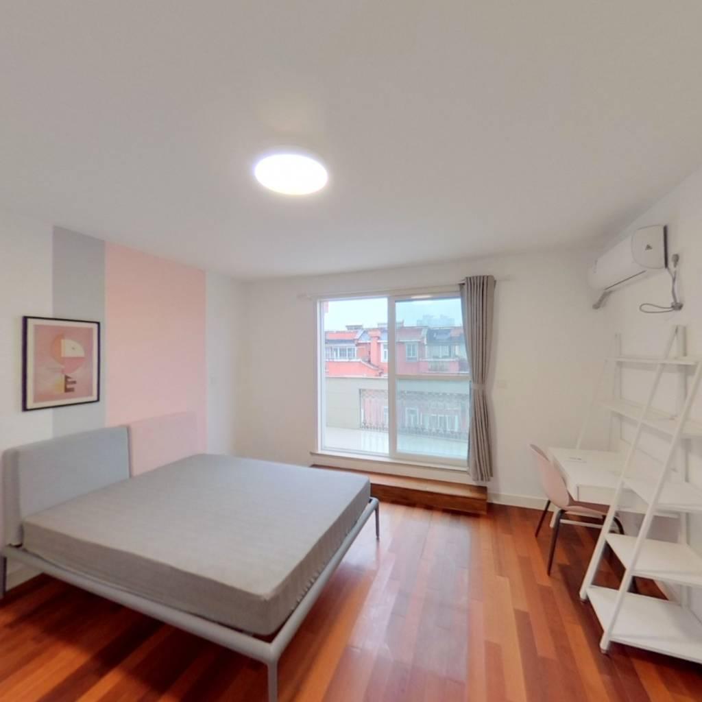 合租·莲花公寓(闵行) 5室2厅 南卧室图