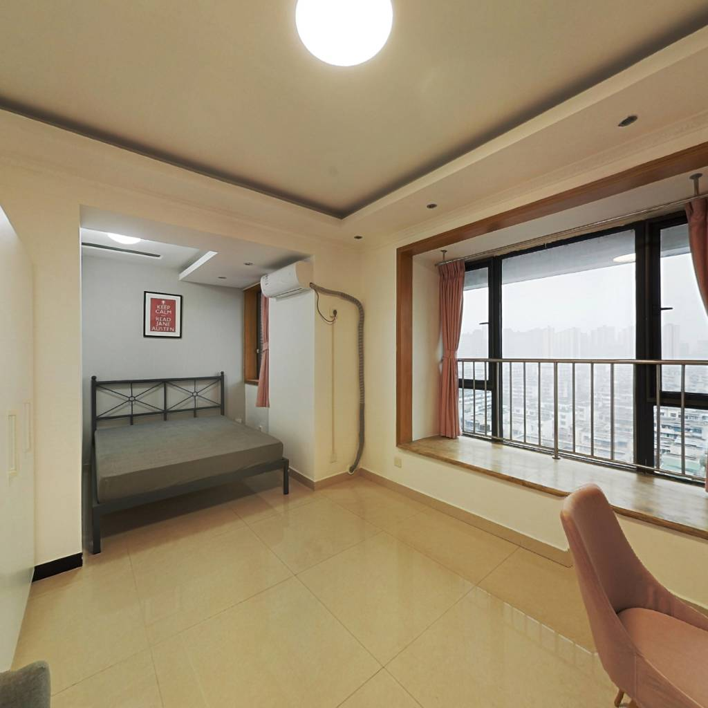 合租·紫东芯座 4室1厅 东南卧室图