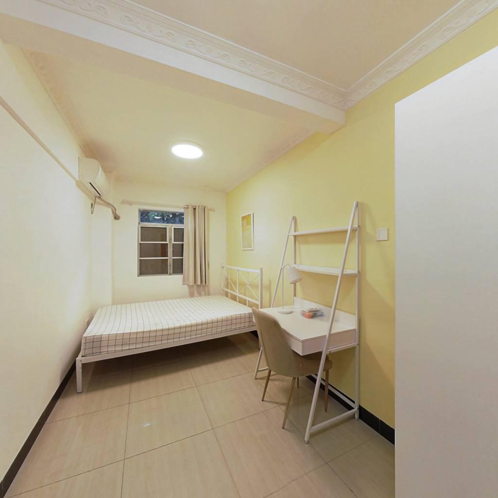 合租·珠岛花园 4室1厅 南卧室图
