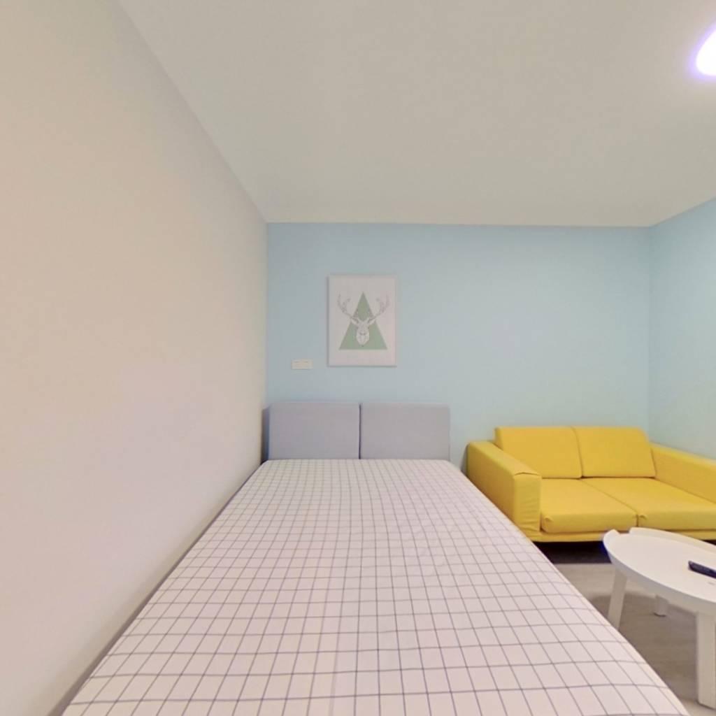 整租·福安小区 1室1厅 南卧室图