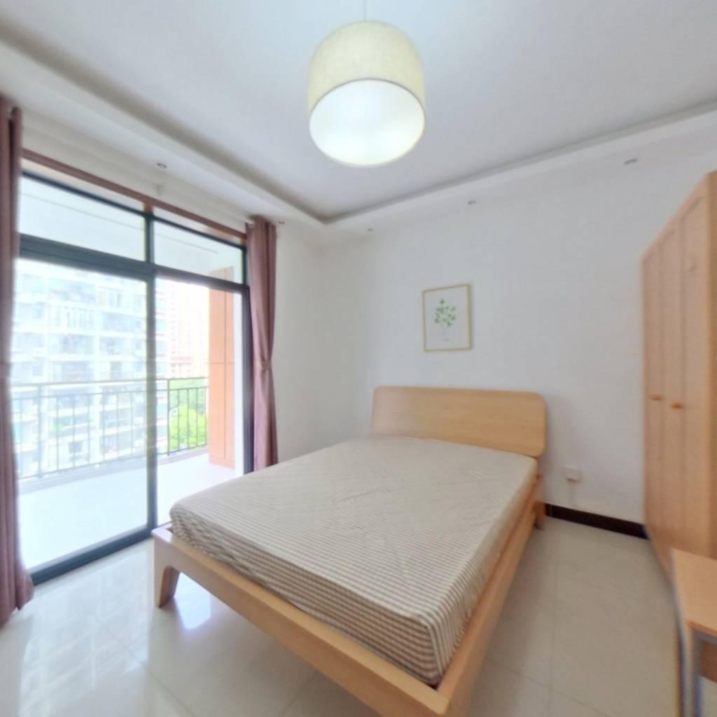 合租·东立国际 4室1厅 北卧室图